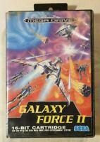 Galaxy Force II [2] SEGA MEGA DRIVE 1992 Rail Shooter [No Manual]