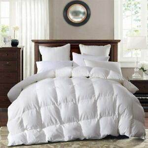 SNOWMAN 100% White Goose Down Comforter 1200TC 800 Fill Power King/Queen Size