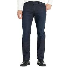7 For All Mankind Men's Standard Classic Straight Leg Jeans Blue Denim Bison