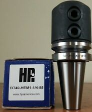 "HPI Pioneer BT40 1-1/4"" End Mill Holder 3.35"" Coolant Thru **NEW**"