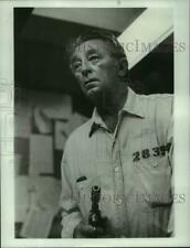 1983 Press Photo Robert Mitchum stars in A Killer in the Family, on ABC.