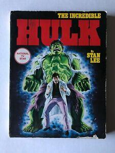 Incredible Hulk by Stan Lee OOP TPB/Graphic Novel Marvel Fireside Comics 1978
