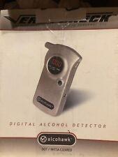 New In Box! Alcohawk Abi Digital Alcohol Tester Breathalyzer Vers-I-Check