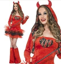 DEVIL TUTU HALLOWEEN FANCY DRESS - SMALL 8 - 10 FEVER COSTUME SEXY