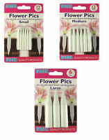 PME Flower Floral Picks Pics Sugarcraft Flower Holder Cake Decorating Tool