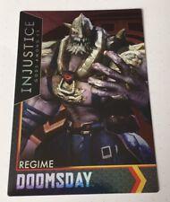 Injustice Justice League Gods Arcade Game Trading Card Doomsday Regime 20 FOIL