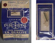 1 x saphir NOS needle neuf compatible Philips Discostyl PH 115
