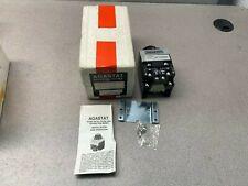NEW AGASTAT 250VDC. TIMER .1-1 SEC. TIMING RELAY E7012SA002