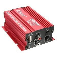 Kinter MA-150 Amplifier Digital Stereo Amplifier For Car Motorcycle and Boa