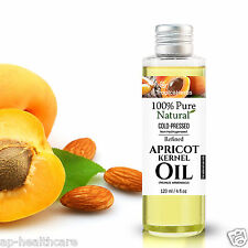 100% PURE APRICOT KERNEL OIL NATURAL COLD PRESSED CARRIER OIL for Sensitive Skin
