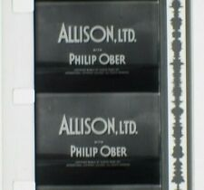 16mm ALLISON, LTD. (Ford Television Theatre, 1953) Merle Oberon, Philip Ober