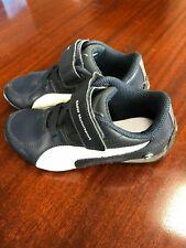 PUMA BMW Motorsport boy shoes size 10.5,dark blue