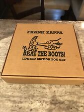 Frank Zappa Beat The Boots Limitied Edition LP Box Set