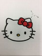 Hello Kitty Embroidery Iron On Patch Patches / Lovely Appliques /Sew Skirt