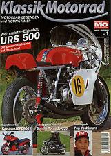 Klassik Motorrad 1/03 2003 Aspes Yuma Benelli Tornado 650 S GPZ 900 R Monard URS