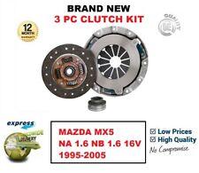 FOR MAZDA MX5 NA 1.6 NB 1.6 16V 1995-2005 BRAND NEW 3 PIECE CLUTCH KIT SET 200MM