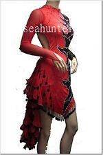 U0550 Women Ballroom latin samba salsa dance competition dress custom made