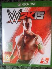 W2K15 WWE 2K15 Wrestling Xbox One Nuevo Lucha en castellano Playable in english