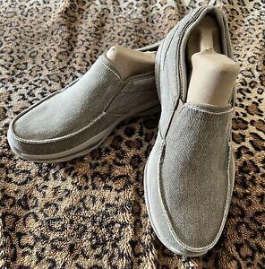 Sketchers Men's Avillo Vintage Washed Slip-On Loafer w/ Memory Foam Size US 9.5