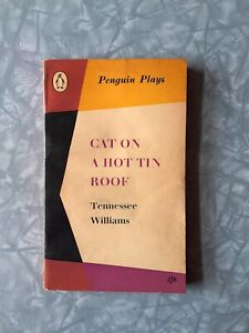 """""""Cat on a Hot Tin Roof"""" Tennessee Williams, 1st Ed Penguin Paperback 1957"""