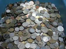 1 Kg unedle Weltmünzen, Kiloware, gemischte Münzen      5A7143