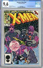 X-Men  #202   CGC   9.6   NM+   White pages  2/86  Sentinels & Beyonder App.