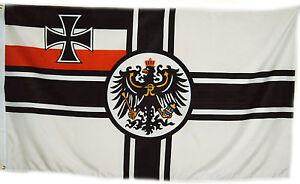 Fahne EK RKF Reichskriegsflagge 2,5x1,5 Meter Kaiserliche Marine Neu  #157