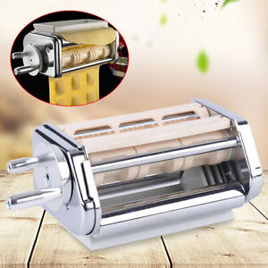 For Kitchen Aid Pasta Roller Cutter Ravioli Maker Stand Mixer Attachment Set TOP