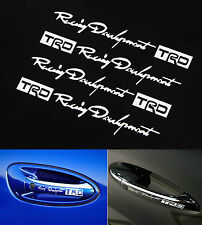TRD Racing Development Doorknob auto Car Truck Decal Sticker JDM New
