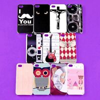 New Lot Colorful Back Skin Case TPU Hard Cover Protector for iPhone 4 4S 4G