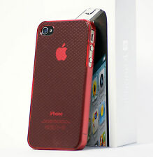 Wolke Transparent Hülle , Cover, Case, Schale,Bumper Handytasche f. iPhone 4S/4