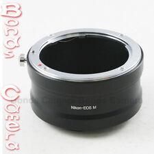 Nikon F Mount Lentille af ai pour Canon EOS M EOSM Adaptateur pour Caméra Mount Mirrorless