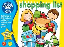 *NEW* Orchard Toys SHOPPING LIST MEMORY GAME - No Reading Required - Age 3+