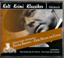 Pater Brown 3CD Hörbuch: Der Mann im Gang, Kopf des Caesar, Duell des Dr. Hirsch