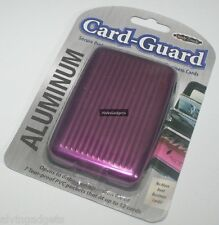 Aluminum Card Guard Holder Wallet Protection Case For Business Credit Cards