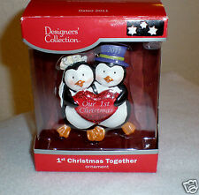 "2011 Designer Collection ""Bride & Groom"" Ornament by American Greetings  NIB"