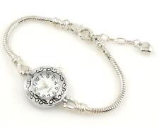 Charm Watch Style Bracelet Fit European Bead 20cm WP9