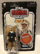 Star Wars Retro Collection The Empire Strikes Back Han Solo Hoth Figure.