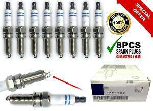 8PCS FIT Bosch Double Platinum Spark Plug GERMANY YR7MPP33 004159180326 C300 🔥.
