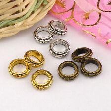 20Pcs Tibetan Silver,Antiqued Gold,Bronze Spacer Beads Fit  Charm Bracelet M1423