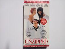 Unzipped VHS Screener Copy Cindy Crawford, Kate Moss, Naomi Campbell NEW
