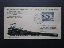 Belgium 1956 Brussel-Luxembourg Issue FDC - Z7586