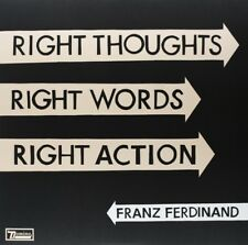 FRANZ FERDINAND - RIGHT THOUGHTS,RIGHT WORDS,RIGHT ACTION  LP + DOWNLOAD NEU