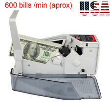 Portable Mini Banknote Counter Bill Cash Money Currency Fast Counting Machine