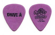 Drive A Purple Guitar Pick - 2012 Tour
