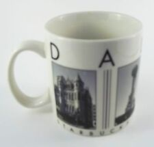 Starbucks Dallas Coffee Tea Mug Cup City Scenes Series 2005