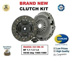 para MAZDA 323 MK III BF 1.1 1.3 1.4 55 / 60BHP 1985-1989 Kit de embrague 3
