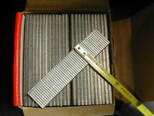 "16 gauge Finish Brad Nails 2,500/bx Galvanized Chisel Point 3/4"" long"