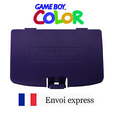 Cache pile Violet Game Boy Color neuf [Battery cover Gameboy GBC] Purple