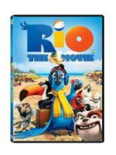 Rio (DVD, 2011) Animated Anne Hathaway Jesse Eisenberg Jamie Foxx New Movie